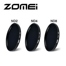 Zomei 67mm ND Filter Kit Neutral Density Lens Filter ND2 ND4 ND8 Lens Pen Pouch