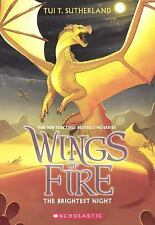 Wings of Fire: The Brightest Night 5 by Tui T. Sutherland (2015, Hardcover)