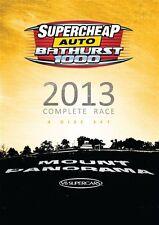 V8 Supercars - Bathurst 1000 Complete Race 2013 (DVD, 2013, 4-Disc Set) NEW!!