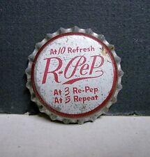 1940's R-Pep Soda Bottle Cap - Unused