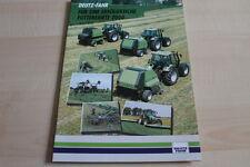 127588) Deutz Fahr-modèle programme-prospectus 11/1999
