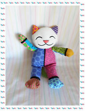 B - Doudou Peluche Chat Coco  Multicolore Britto Pop Plush
