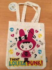 **NEW** Lolita Punk Canvas Shopper Tote Bag Party favor? Gift?
