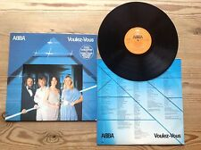 ABBA VOULEZ-VOUS 1979 UK EPIC RECORDS VINYL LP AND CARD LYRIC INNER SLEEVE NM/NM