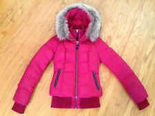 Authentic Mackage Romane Jacket with Fur Trimmed Hood - XXS - Excellent Cond.