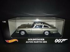 1:18 Hot Wheels Filmmodell  Original GOLDFINGER Aston Martin DB5 James Bond