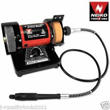 "3"" MINI ELECTRIC BENCH GRINDER W/ FLEX SHAFT"