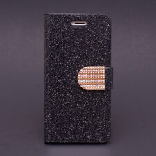 Glitter Bling Wallet Rhinestone Leather Case for iPhone SE 5 5s / 6 6s Plus