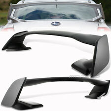 ABS Premier Black Rear Trunk Spoiler Wing For 08-14 Subaru WRX/Impreza STi 4DR