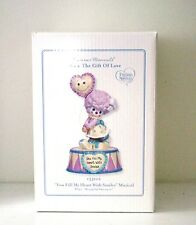 """Precious Moments """"You Fill My Heart With Smiles"""" Circus Clown Musical Figure"""