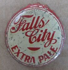 FALLS CITY EXTRA PALE LOUISVILLE KY USED BEER CAP CORK LINED