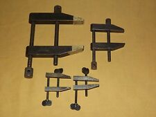 VINTAGE TOOL  2 L S STARRETT CO  ATHOL MASS.  VISE CLAMPS PLUS 2 GPW CLAMPS