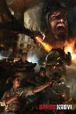NAZI ZOMBIES CALL DUTY BLACK OPS LAMINATED MINI A4 POSTER GOROD KROVI
