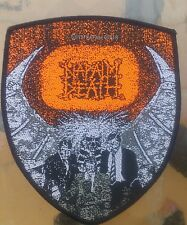 Napalm Death Scum vintage woven patch  Carcass Bolt Thrower Entombed Dismember
