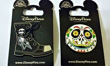 Nightmare Before Christmas JACK SKELLINGTON Shoe boot + Mask Disney Park Pins