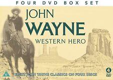 John Wayne - WESTERN HERO - Eight John Wayne Classics on 4 DVD's