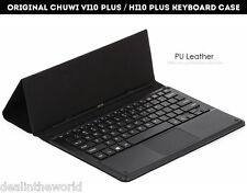Original CHUWI VI10 PLUS / HI10 PLUS Keyboard Case Magnetic Docking PU Leather