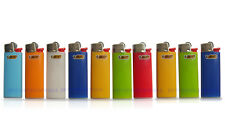 10 x BIC MINI Size Lighters Assorted Colors Always Reliable! ~ Free Shipping