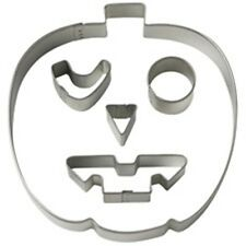 Wilton Halloween Pumpkin Scary Faces Cookie Cutter Set Make different Faces! NEW
