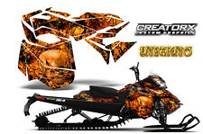 SKI-DOO REV XM SUMMIT SNOWMOBILE SLED GRAPHICS KIT WRAP CREATORX INFERNO OB