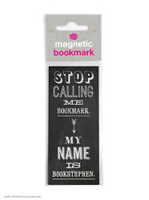 Brainbox Candy Funny Magnetic Bookmark small gift present birthday joke stephen