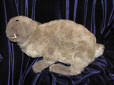 CHARLEEN KINSER STUFFED PLUSH JOINTED FLEMISH GIANT BUNNY RABBIT REALISTIC EUC