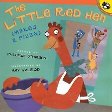 The Little Red Hen (Makes a Pizza)-ExLibrary