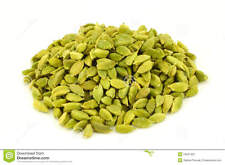 Natural Green Whole Cardamom Pods - 7 Oz, 200g.