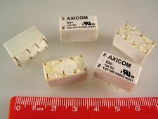 AXICOM V23105-A5303-A201 Signal Relay DPDT 12VDC 3A Non Latching 5 Pieces OL0---