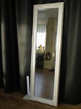 White Full Length Mirror Floor Standing Mirror Ornate Shabby Chic 130 cm x 40cm