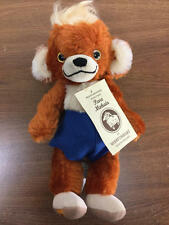 """10"""" MERRYTHOUGHT RUST COLOR CHEEKY TEDDY BEAR 322/1000 POSSIBLY PUNKINHEAD"""