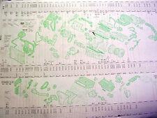 SKODA OCTAVIA  (1U)   Original Audatex Reparaturbogen