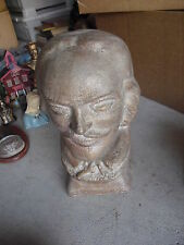 """Large  Modern Hollow Ceramic William Shakespeare Bust  12"""" LOOK"""