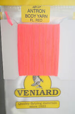 Veniard ANTRON Body Yarn ABY-07 FLUO RED