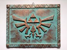 "Zelda - Hyrule Crest - Patinated Wall Display - 12.5"" (32cm)"