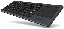 Logitech Illuminated Living-Room Wireless Keyboard K830 and Touchpad for TVs