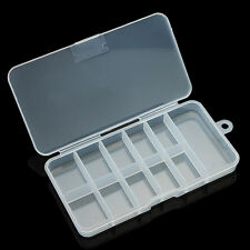 1 pcs Nail Art Acrylic Plastic Empty Compartment Storage Box Y089-1