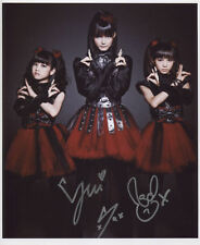 Babymetal Baby Metal SIGNED Photo 1st Generation PRINT + Certificate / 4