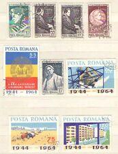 Q5423 - ROMANIA - 1964 - SERIE COMPLETA USATA - VEDI FOTO