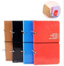 4 in 1 Multi Loose NoteBook Plan Account Sketch Note Diary Journal Planner Book