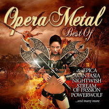 CD Opera Metal Best Of by Various Artists CD with Avantasia und Nightwish