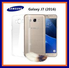 COVER CUSTODIA SOTTILE  TRASPARENTE PER Samsung Galaxy J7 (2016)