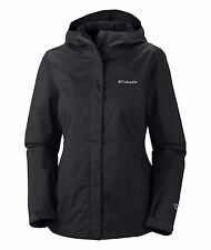 COLUMBIA $90 Women's Arcadia™ II, Rain Jacket, Waterproof, Black, Size S-XL, 1X