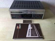 Revox B 215 Cassette Tape Deck WITH ORIGINAL DUST COVER & OPERATING INSTRUCTIONS