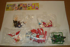 SR SERIES SUPER REAL FIGURE TATSUNOKO HERO COLLECTION PART 4  SET COMPLETO-YUJIN