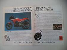 advertising Pubblicità 1986 MOTO GILERA NGR 250