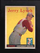 1958 TOPPS #103 JERRY LYNCH EX-MT D5252