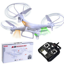 White 360° Syma X5 Explorers 4CH RC Quadcopter Remote Control 6-Axis Gyro New