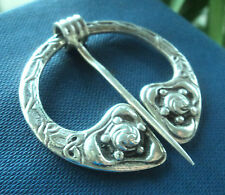 Vintage Stg Silver Scottish Iona Celtic Brooch - Shipton & Co - h/m 1949 Chester