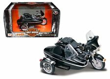 MAISTO 1:18 HARLEY-DAVIDSON CUSTOM 1998 FLHT ELECTRA GLIDE STANDARD WITH SIDECAR